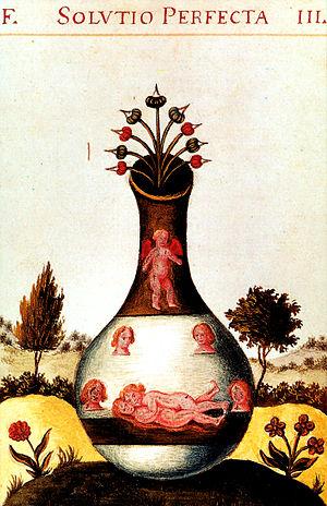 Homunculus - Image: Alchemische Vereinigung aus dem Donum Dei