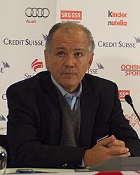 Sabella at a press conference in 2012