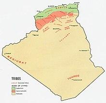 Carte Algerie En Arabe.Algerie Wikipedia