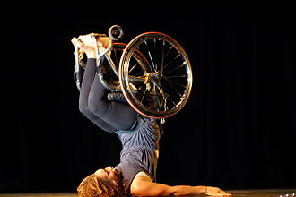 "Floorwork - Image: Alice Sheppard performs ""So, I Will Wait."""