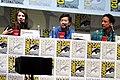 Alison Brie, Ken Jeong & Danny Pudi (9362898729).jpg