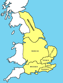 Map Of England In 9th Century.Anglo Saxon England Simple English Wikipedia The Free Encyclopedia