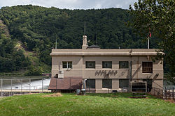 The Allegheny River Lock and Dam No. 6