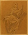 Allegorical Figure of the City of Piacenza, for a Pendentive in the Chapel of Saint-Roch, Church of Saint-Sulpice, Paris (recto); Studies for the Same Figure (verso) MET 1984.66.jpg