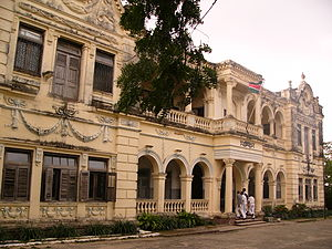 "Government Communications Headquarters - Allidina Visram school in Mombasa, pictured above in 2006, was the location of the British ""Kilindini"" codebreaking outpost during World War II"