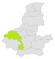Almar district location in map of Faryab province.png
