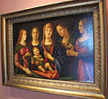 Alvise vivarini, madonna con due sante e due santi.JPG