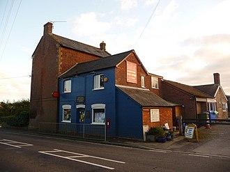 Alweston - Image: Alweston, the post office geograph.org.uk 1553858
