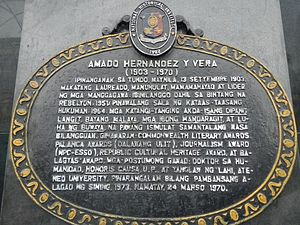 People vs. Hernandez - Image: Amado V.Hernandezjf 1214