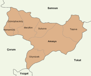 Amasya location districts.png