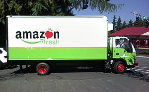 AmazonFresh - Amazon Fresh Truck