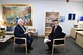 Ambassador Friedman interviews to Ch10 and Ch 2 (27433277027).jpg