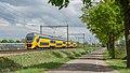 America VIRM 9592 (Lekker lezen) IC 3556 Schiphol + 8661 IC 3547 Venlo (32912184527).jpg