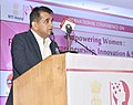 Amitabh Kant addressing the International Conference on 'Empowering Women Fostering Entrepreneurship, Innovation and Sustainability', organised by the NITI Aayog and Shri Ram College of Commerce, in New Delhi.JPG