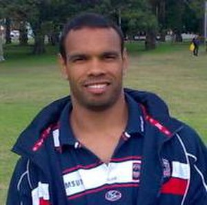 Amos Roberts - Roberts while at the Roosters in 2008