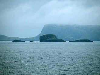 An t-Iasgair - Sgeir nan Ruideag, An t-Iasgair and An Dubh Sgeir