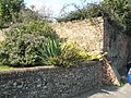 Ancient wall in Old Bedhampton Churchyard - geograph.org.uk - 984233.jpg