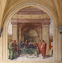 Death of Saint Philip Benizi and Resurrection of a Child