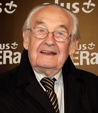 1981 Cannes Film Festival - Andrzej Wajda, winner of the Palme d'Or for the event