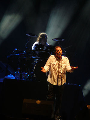 Summercase - Orchestral Manoeuvres in the Dark at the 2007 festival in Madrid.