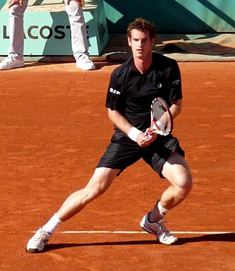 Andy Murray - Murray made the quarterfinals of the 2009 French Open