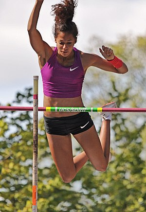 2009 World Youth Championships in Athletics - Angelica Bengtsson took the pole vault title for Sweden.