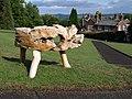 Animal sculpture, Seale Hayne - geograph.org.uk - 2015903.jpg
