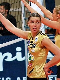 Anja Spasojević Serbian volleyball player