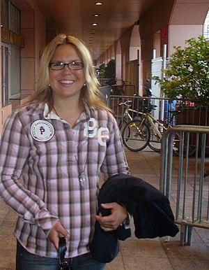 Anja Pärson - Anja Pärson in Monaco in 2006