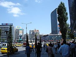 Ankara Kizilay square.JPG