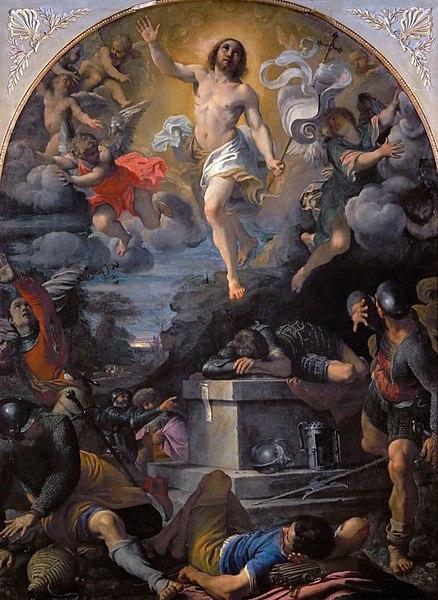 File:Annibale Carracci, Resurrezione, Louvre.jpg