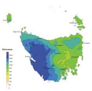 Climate Of Tasmania Wikipedia