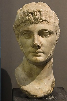 Antakya Archaeological Museum Antiochus X Eusebes Philopator head sept 2019 5835.jpg