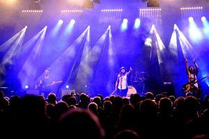 Antigone Rising - Antigone Rising performing live at the blacksheep festival (Germany) 2016