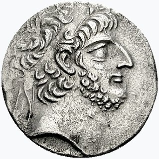 Antiochus XII Dionysus King of Syria
