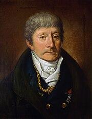 Antonio Salieri, Öl auf Leinwand von Willibrord Joseph Mähler (Quelle: Wikimedia)