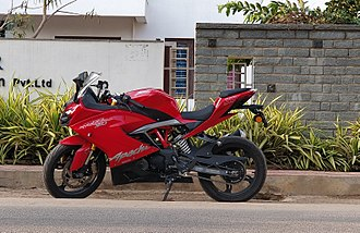 TVS Motor Company - TVS Apache RR 310 is their latest 310cc motorcycle