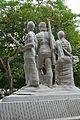 Aparajeyo Bangla - 1979 CE - Sculpture by Syed Abdullah Khalid - University of Dhaka Campus - Dhaka 2015-05-31 2370.JPG