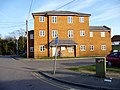 Apartment Block opposite Ewell West Station, Surrey - geograph.org.uk - 1778306.jpg