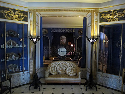 The Boudoir Of Fashion Designer Jeanne Lanvin 1922 25 Now In Museum Decorative Arts Paris