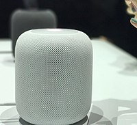 Apple HomePod au WWDC 2017 en blanc