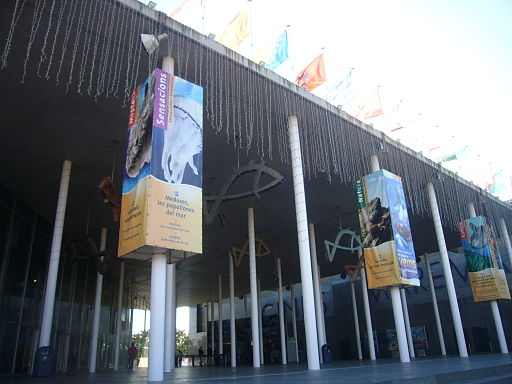 Aquarium Barcelona - entrance