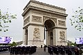Arc d'Triomphe, As Seen Before Secretary Kerry Participates in 70th Anniversary VE Day Commemoration in Paris (17419687302).jpg