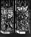Archevêché - Vitrail, Portement de croix, Le Christ attaché sur la croix - Rouen - Médiathèque de l'architecture et du patrimoine - APMH00015434.jpg