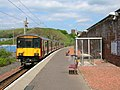 Ardrossan Town station with train.JPG