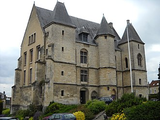 Argentan - The Château of the dukes in the center of Argentan.