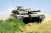An Iveco-Oto Melara Ariete main battle tank of Esercito Italiano