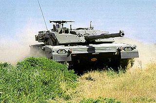 battle tank of the Italian Army