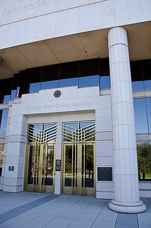 Arizona Supreme Court - Arizona Supreme Court Building in downtown Phoenix.
