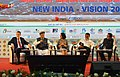 Arjun Ram Meghwal at a panel discussion - 'NEW INDIA- VISION 2022', at the Golden Jubilee Year National Convention of Institute of Company Secretaries of India (ICSI), in Thiruvananthapuram, Kerala.jpg